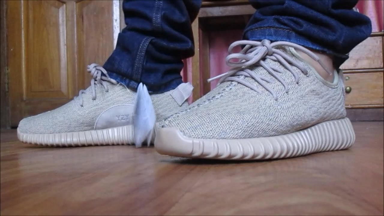 UNBOXING YEEZY BOOST 350 OXFORD TANS ON FEET!