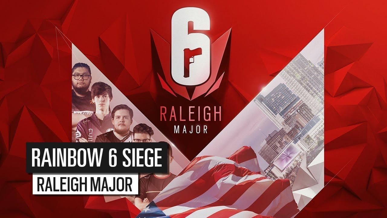 How To Watch The Rainbow Six Siege Raleigh Major Streams