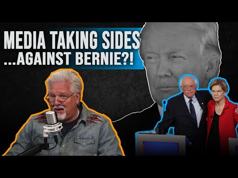 BERNIE SANDERS AGAINST A WOMAN PRESIDENT? Democratic Debate, Elizabeth Warren & How CNN Picks Sides
