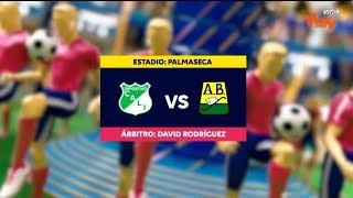Cali vs Bucaramanga - Mejores jugadas Fecha 1 - Liga Aguila I 2019