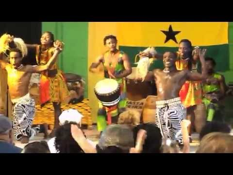 Wasa Pan Afrika Dance Ensemble- NY STATE FAIR 8-5-2015 Awesome!!
