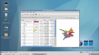 BOSS operating system Disk Usage Analyzer