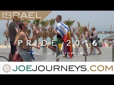 Tel Aviv Pride 2016 - Israel  | Joe Journeys