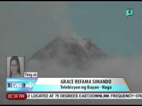 Aerial survey sa Bulkang Mayon nakatakdang gawin anumang oras matapos magpakita ng ...