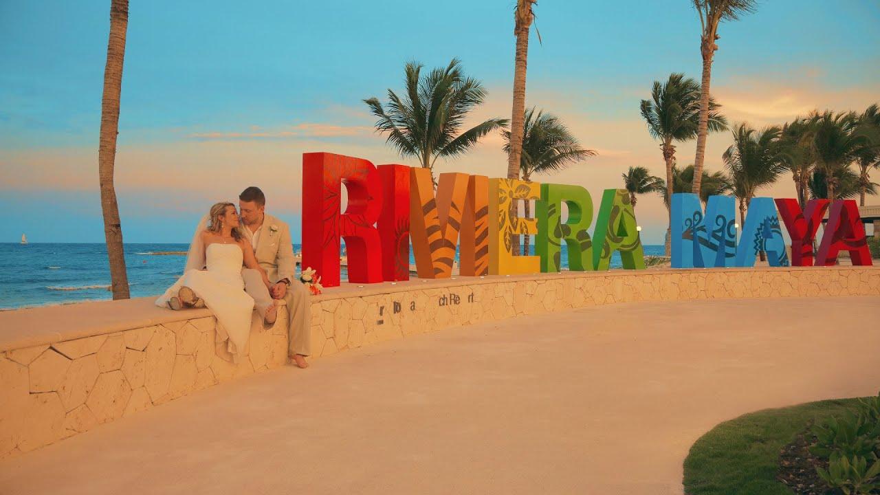 Jackie Andrew Riviera Maya Mexico Destination Wedding Video You