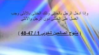 الخوئي  والوطء في دبر الخنثى من فتاوي الجنس الشيعية