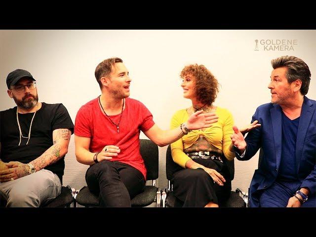 X Factor: Interview mit der neuen Jury (Sido, Lionshead, Jennifer Rostock, Thomas Anders)