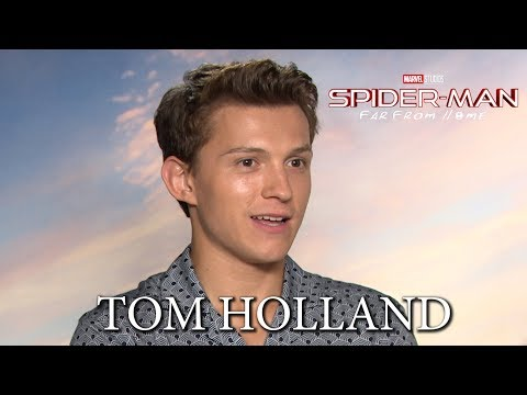 SPIDER-MAN: FAR FROM HOME with Tom Holland, Zendaya, Jake Gyllenhaal & Samuel L. Jackson
