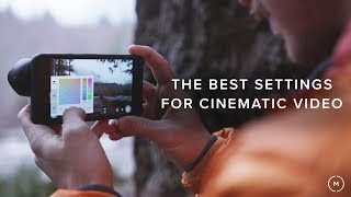 The Best Settings For Cinematic Mobile Video | Our Filmic Pro Settings