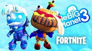 LittleBigPlanet 3 - Fortnite Season 5 GALAXY & BEEF BOSS SKIN! Plus Paintformer Level | EpicLBPTime