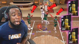 NEW! NBA 2K19 MyTeam Triple Threat | 3 LEBRONS Everywhere!!!