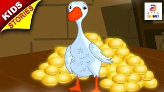 Short Stories for Kids | The Goose and The Golden Egg | Aesop fables in English  by Anon Kids