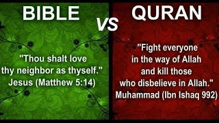All Muslims Hate Jesus Christ the Son of God YAHWEH of Israel - Bible vs Quran