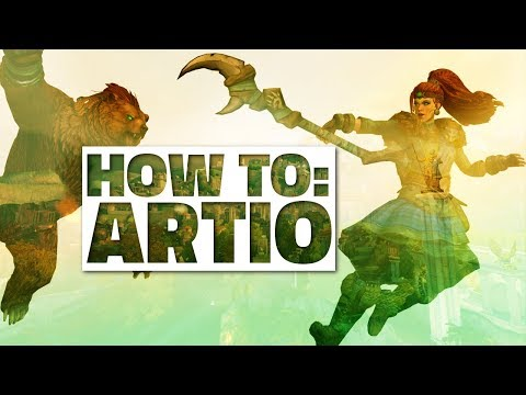 How to play ARTIO! In-Depth Guide: Abilities & Items [SMITE] +ANNOUNCEMENT!