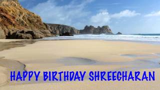 Shreecharan   Beaches Playas - Happy Birthday