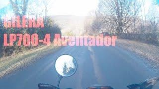 Gilera avec moteur:LP700-4 Aventador