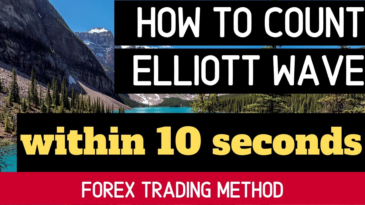 How To Count Elliott Wave Within 10 Seconds Youtube