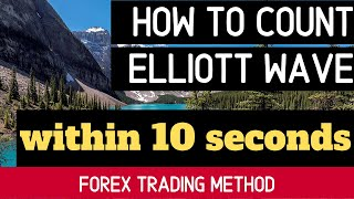 How to Count Elliott Wave within 10 Seconds