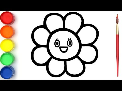 glitter-toy-rainbow-flower-coloring-and-drawing-learn-colors-for-kids