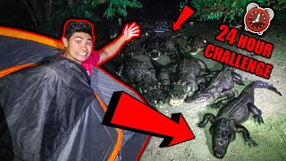 OVERNIGHT Challenge in GATORLAND!!!