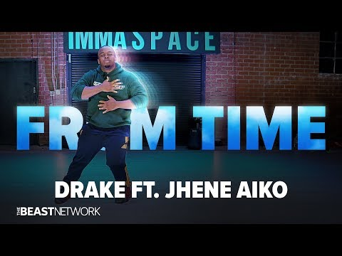 Drake Ft. Jhene Aiko - From Time | DJ Marv Choreography | @immaspace 2018
