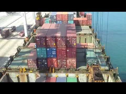 Container Vessel Operations part 02, by Freight Forwarder WI