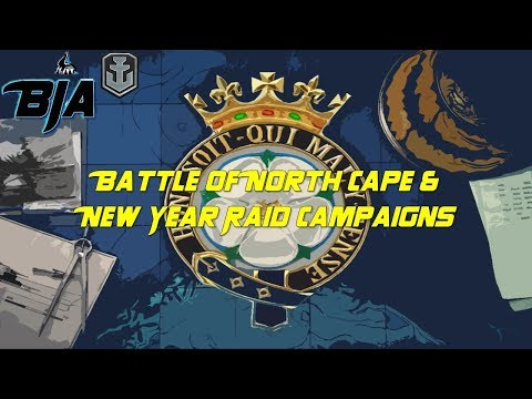 World of Warships- Battle of North Cape/New Year Raid Campaign