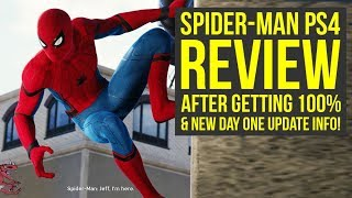 Spider Man PS4 Review After 100% (Story Spoiler Free) & New Game Plus Coming (Spiderman PS4 Review
