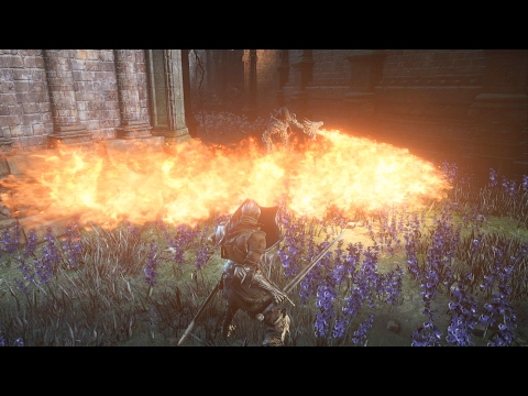 DARK SOULS Ⅲ THE RINGED CITY GamePlay Footage 【2017.2】