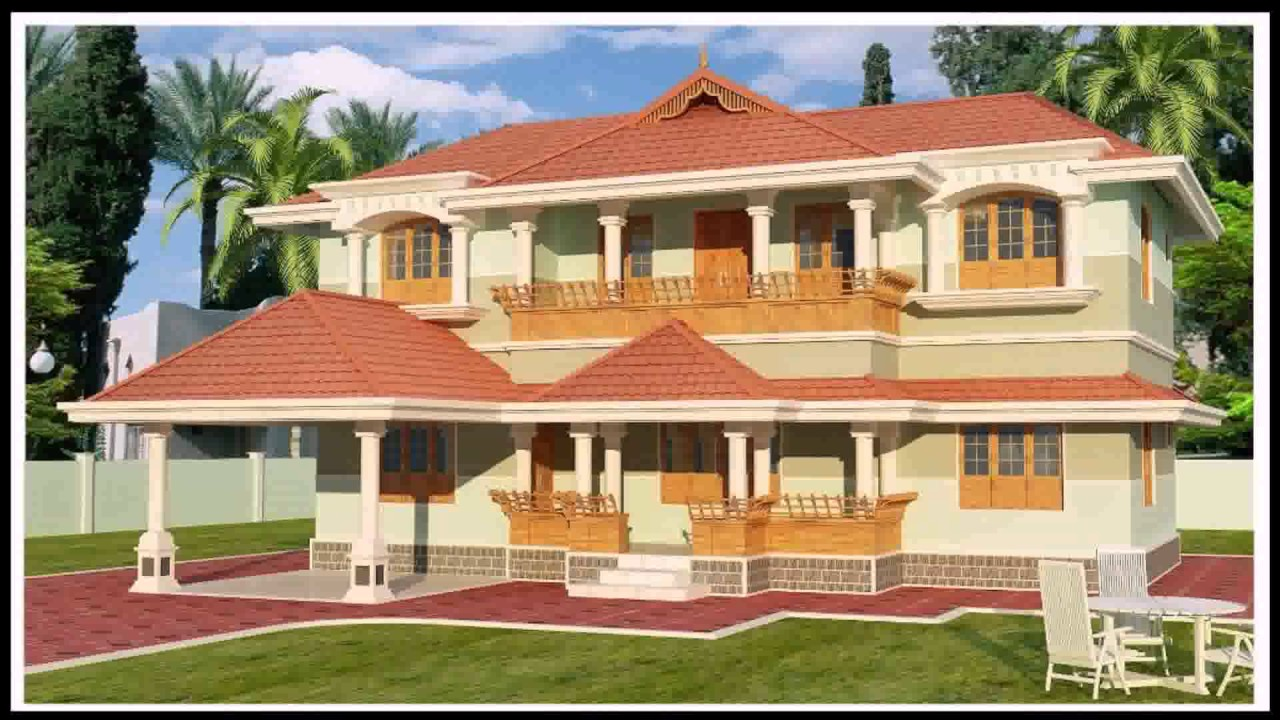 House Elevation Designs Kerala Style Youtube