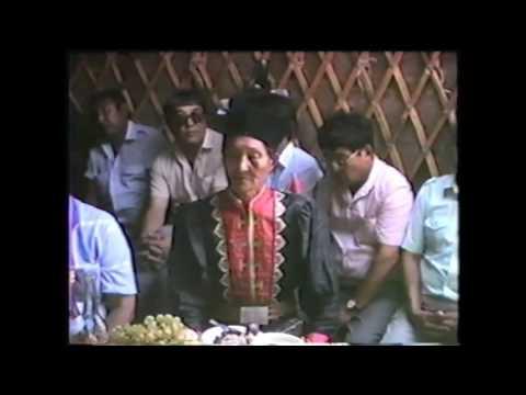 Old Jangarche Senka Goryayev (p. Upper Yashkul) - 1990, Kalmykia