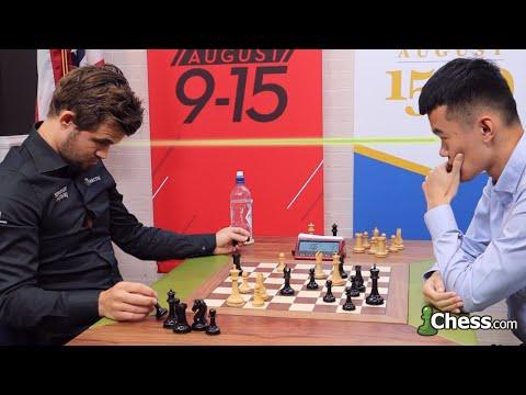 Magnus Carlsen vs. Ding Liren | Narración de ajedrez blitz en tiempo real