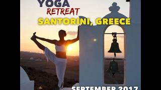 Yoga Retreat Santorini 2017