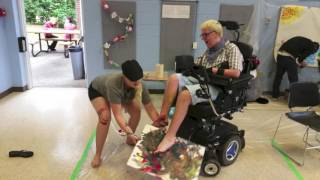 Accessible Art By Stephanie Limage / Art Therapy For Special Needs