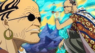 """Blue Flame"" Scopper Gaban and His Amazing Powers! - One Piece 921+"
