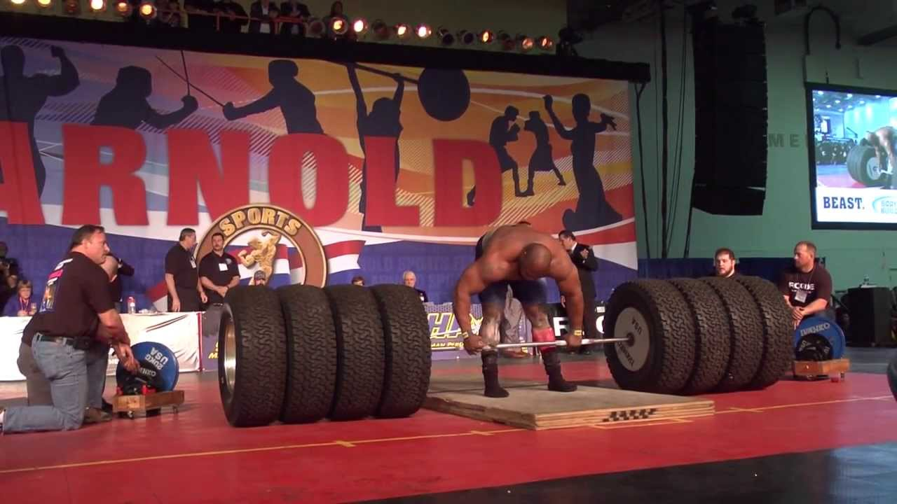 World Record Deadlift 1128 Pounds World S Strongest Man