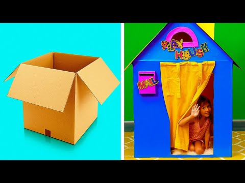 29 EASY CARDBOARD PROJECTS FOR THE WHOLE FAMILY