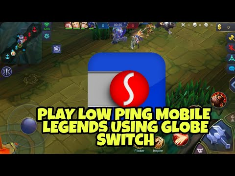 PLAY MOBILE LEGENDS USING GLOBE SWITCH