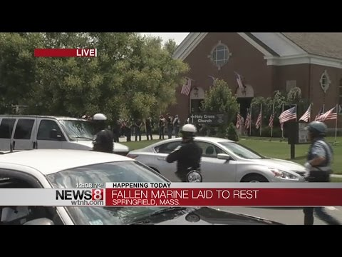 Funeral for Massachusetts Marine killed in Tennessee attack