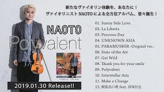 NAOTO『Polyvalent』2019.01.30 Release!!! Spice Up Records SURE-0028...
