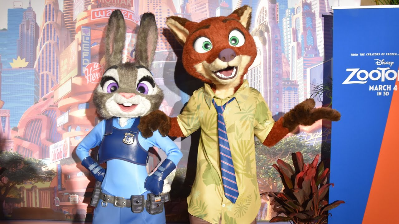 zootopia meet and