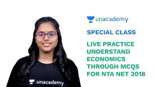Special Class - Live Practise Session - Understand Economics Through MCQs for NTA NET - Tanya Bhatia