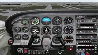 Flight Simulator 2000: Landing at Chicago Midway, Runway 13C