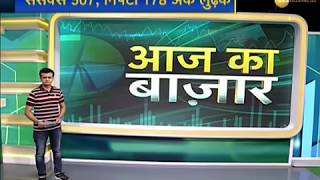 Market Today: Sensex crashes by 507 points and Nifty down by 178 points