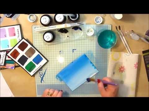 Spectrum Noir Aqua Tints - Graduated Blending