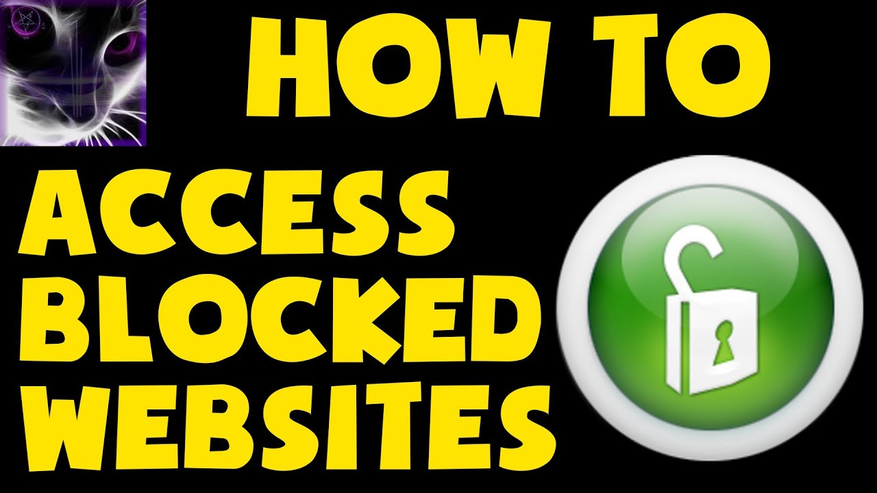 How to access blocked websites bypass isp filters youtube ccuart Gallery