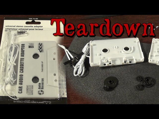 Aux to Cassette Adapter Teardown and Explanation - YouTubeYouTube