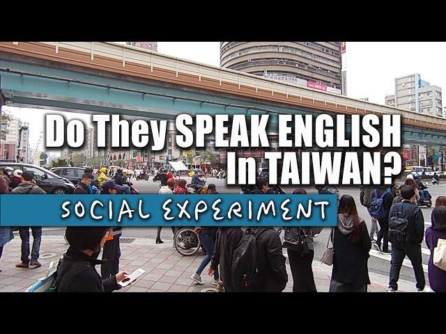 Do They Speak English In Taiwan?