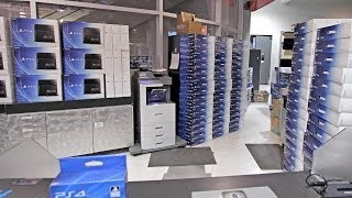 This is what 200+ PS4s Look Like