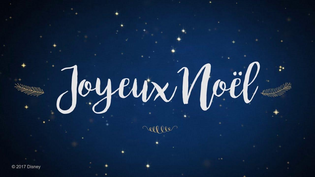 Disney joyeux no l i disney youtube - Joyeux noel disney ...